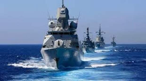 Гопники опять выпендриваются, или Корабли Альянса в черноморской акватории