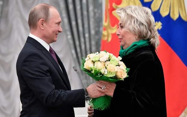 Тарасова: «СПутиным нестыдно, унего есть харизма»