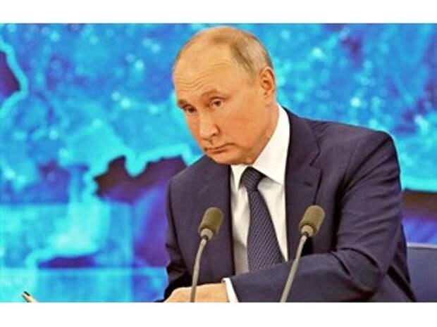 Москва «обнуляет» Зеленского. Какие сигналы послал Путин Украине на пресс-конференции