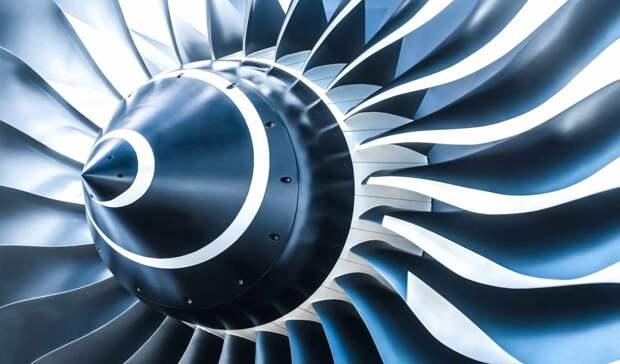 Авиадвигатель с керамическими лопатками