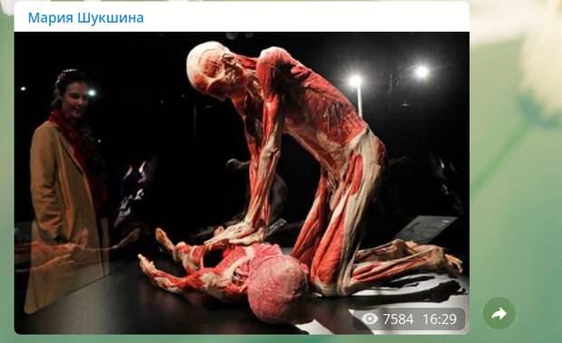 """Мария Шукшина показала """"доктора смерть"""", плюющего в лицо русским"""