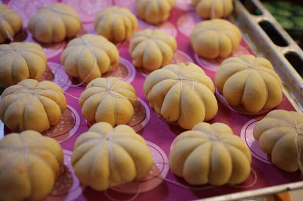 Оригинальные пирожки с тыквой