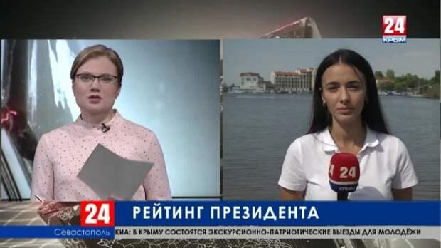 Как крымчане оценивают работу Президента России Владимира Путина?