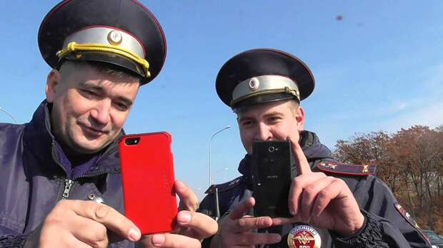 Полицейские теперь со смартфонов видят нарушителя