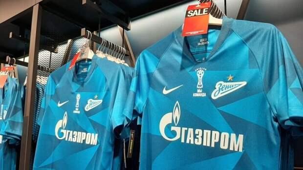 ПАО «Газпром» является владельцем и титульным спонсором ФК «Зенит»
