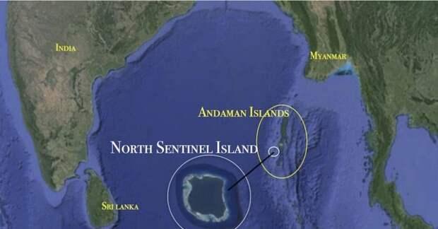 Официально остров относится к территориям Индии, но фактически отрезан от страны и живет своей жизнью / Фото: pikabu.ru