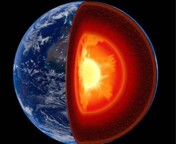 В ядре Земли нашли неизвестный слой