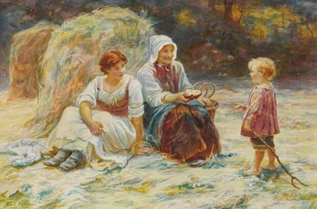 художник Фредерик Морган (Frederick Morgan) картины – 02