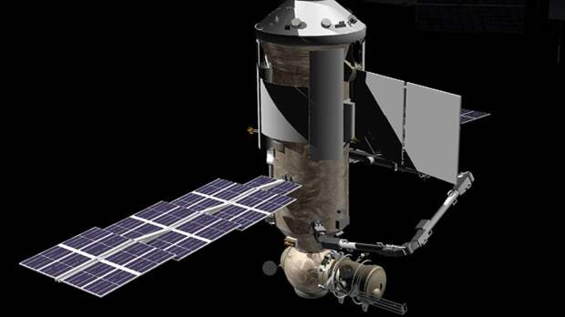 Пилотируемый корабль впервые пристыковался к российскому модулю «Наука» на МКС