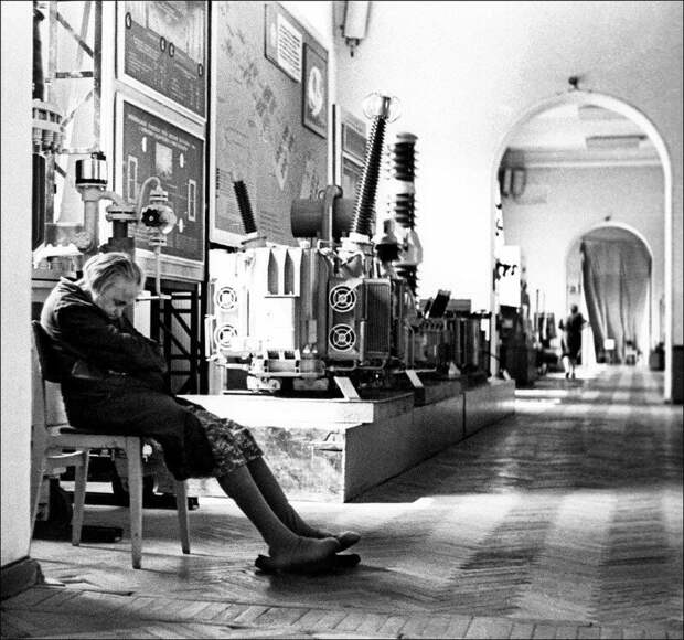 В Политехническом музее, 1968. история, ретро, фото