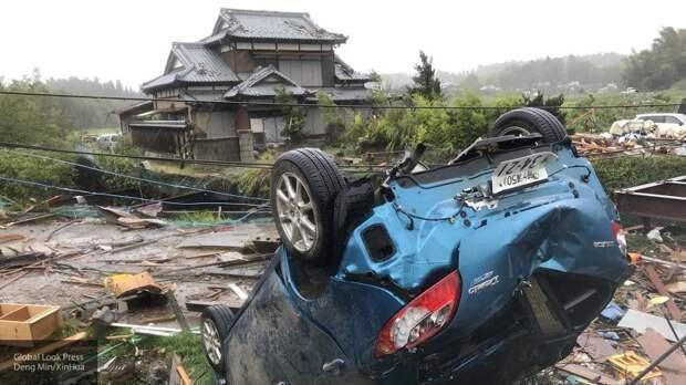Число жертв обрушившегося на Японию тайфуна «Хагибис» возросло до 98