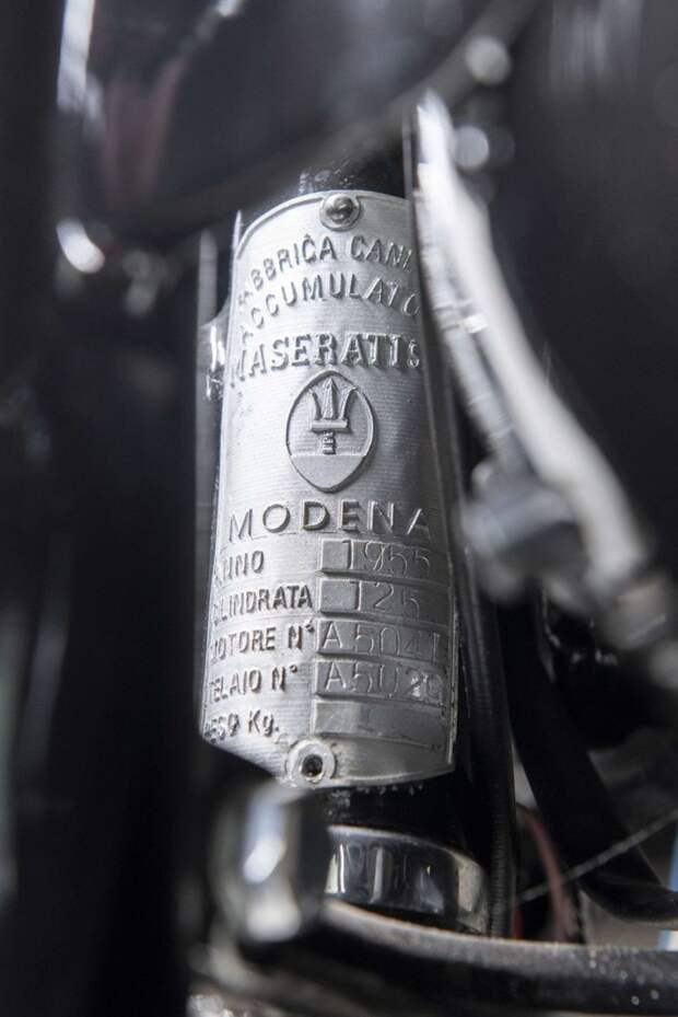 Maserati 125 Tipo T2 - редкий раритетный мотоцикл 1955 года maserati, авто, байк, мото, мотоцикл, мотоциклы, олдтаймер, ретро мотоцикл