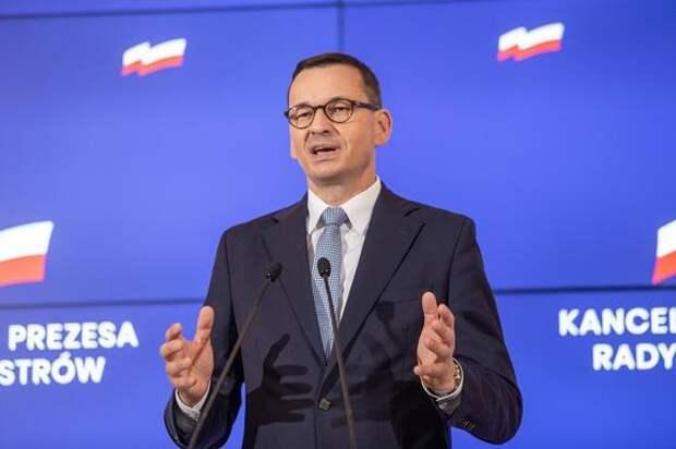 Премьер-министр Польши назвал власти России «враждебным режимом»