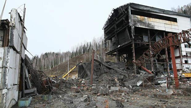 Последствия аварии после мощных взрывов