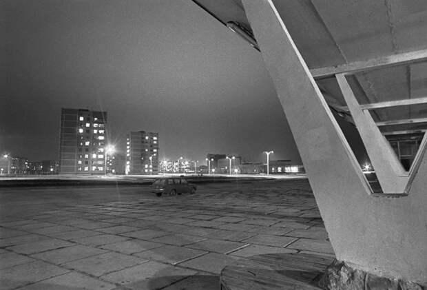 Ночной пейзаж Припять, Четвертый Энергоблок, катастрофа, чернобль