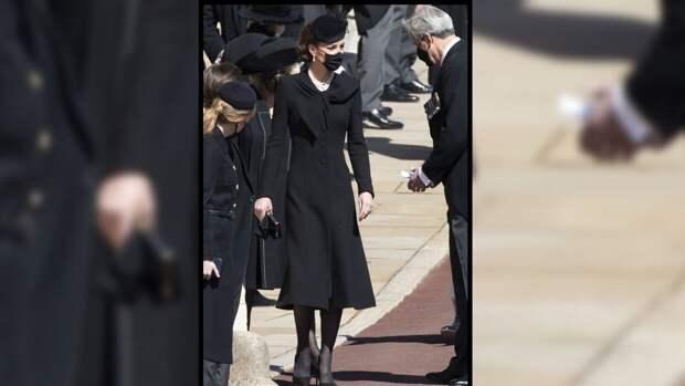 Миддлтон в колье принцессы ДианыпроводилапринцаФилиппа в загробный мир