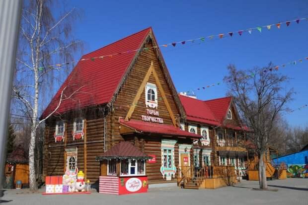 Московская усадьба Деда Мороза / Фото: Ярослав Чингаев