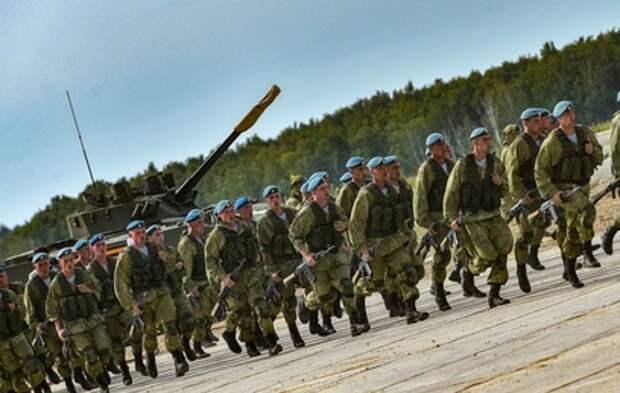 Шойгу поздравил десантников с наступающим праздником
