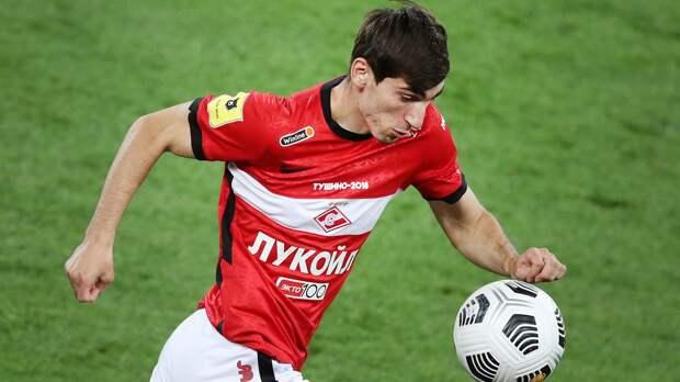 Хинкель: «Будем выяснять причины спада Бакаева. Надеемся, он будет помогать «Спартаку» чаще в этом сезоне»