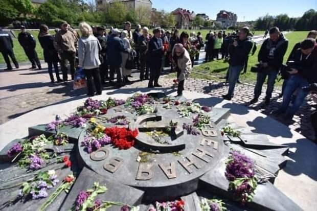 Во Львове считают Украину союзницей фашистской Германии
