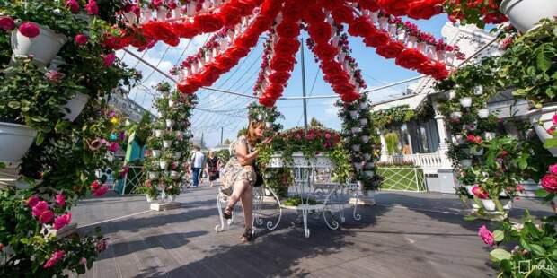 В Москве проходит фестиваль «Цветочный джем»/Фото: mos.ru