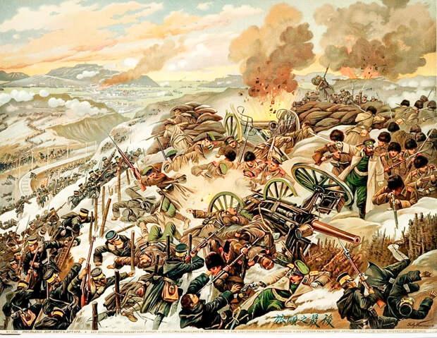 Последние дни обороны Порт-Артура, выдержавшего четыре массированных штурма. Генерал А. М . Стессель вопреки мнению военного совета сдал крепость японцам