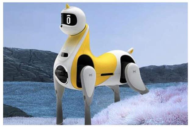 В Китае представили робота-лошадь