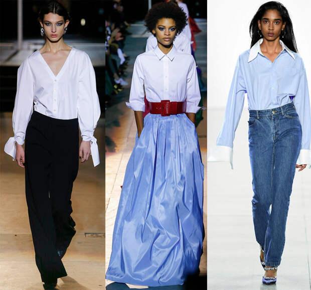 Блузка-рубашка женская