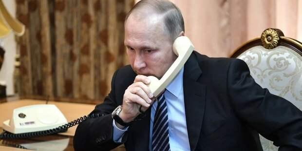 Путин и Рахмон поговорили о ситуации в Афганистане