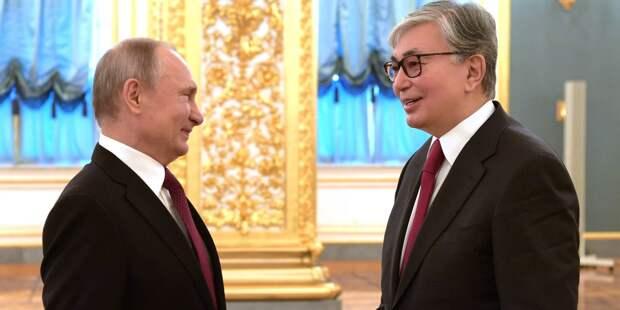 Президенты РФ и Казахстана встретятся в Омске