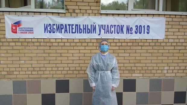 Сотрудники столичного управления МЧС обеспечили пожарную безопасность в дни проведения общероссийского голосования