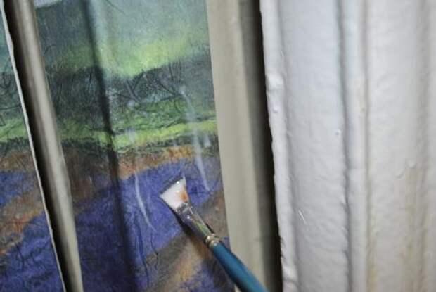 Обычная салфетка и клей ПВА могут превратить батарею в настоящее произведение искусства!