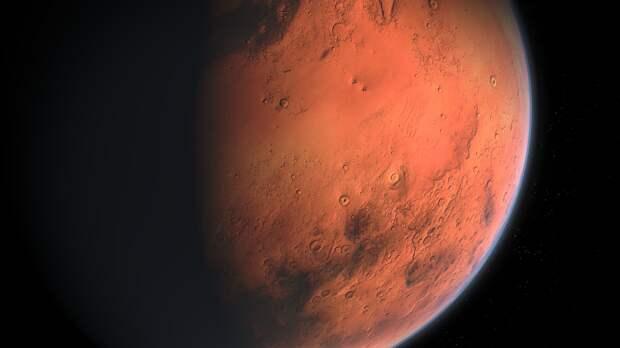 На Марсе на глубине 600 метров нашли живых существ