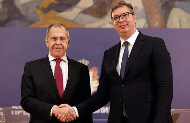 Понуждение к дружбе и сотрудничеству: о встрече Трампа и Вучича