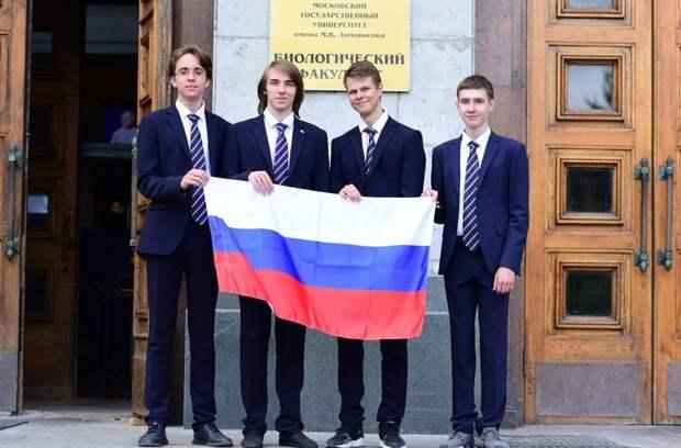 Российские школьники стали обладателями четырёх медалей на Международной биологической олимпиаде