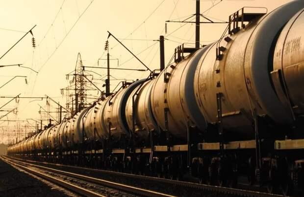 нефть цистерны США НПЗ