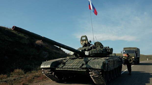 Президент НК поблагодарил российских миротворцев за помощь