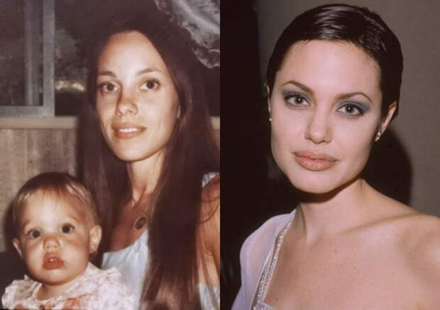 ⭐Как выглядели знаменитости и их родители в одном возрасте: 7 фото