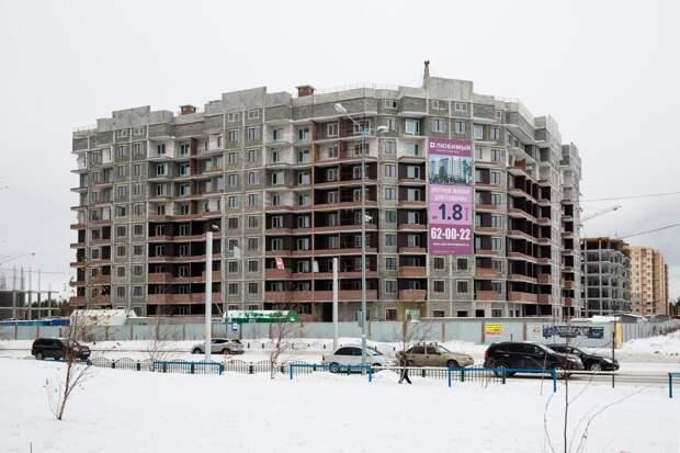 """В Сургуте инвесторы намерены достроить два дома из трех в ЖК """"Любимый"""""""