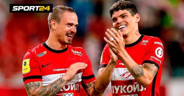 Айртон: «Надеюсь, к матчу с «Динамо» «Спартак» подойдет в оптимальной форме»