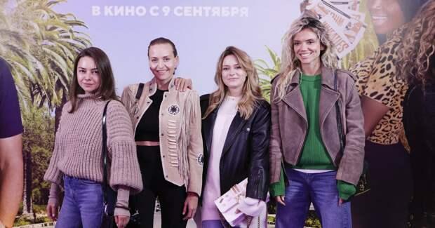 Кинчева, Агалакова, Суркова: звезды на премьере-девичнике