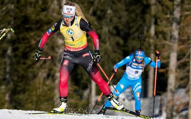 Экхофф выиграла гонку преследования на этапе Кубка мира в Чехии. Миронова — 14-я