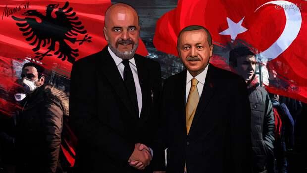Следующая остановка — Албания: Эрдоган переселяет 30 тысяч беженцев