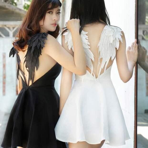Крылатые платья