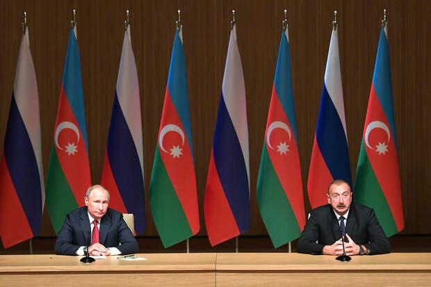 Путин назвал азербайджанским Нагорный Карабах