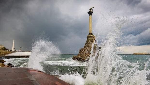 Шквалистый ветер ожидается в Крыму в пятницу