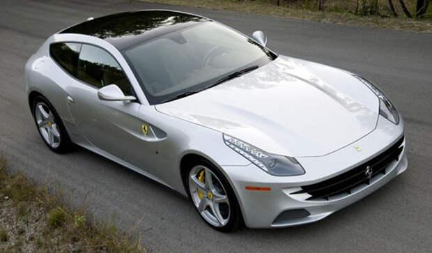 Раритетный Ferrari FF утонул во время ливня
