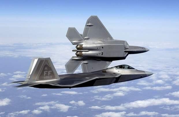 американский Локхид-Мартин F-22A «Раптор»