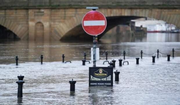 В Германии введён режим военной катастрофы. Германия уходит под воду