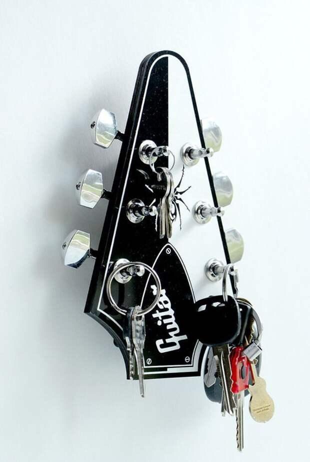 Ключница-гитара